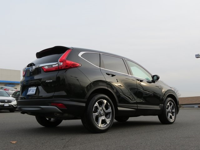 Certified Pre Owned 2017 Honda Cr V Ex L 4d Sport Utility In