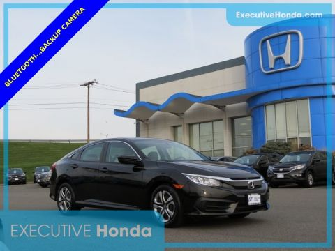 Certified Pre-Owned 2016 Honda Civic LX